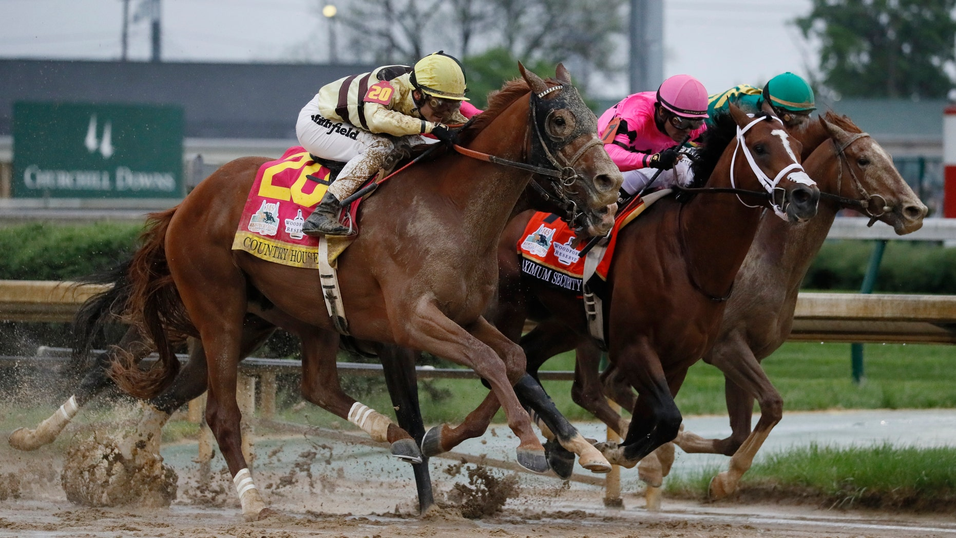"In a historical reversal, Country House was declared the winner of the 145th running of the Kentucky Derby at Churchill Downs on Saturday following ""an inquiry ruling"" and the disqualification of Maximum Security, officials said."