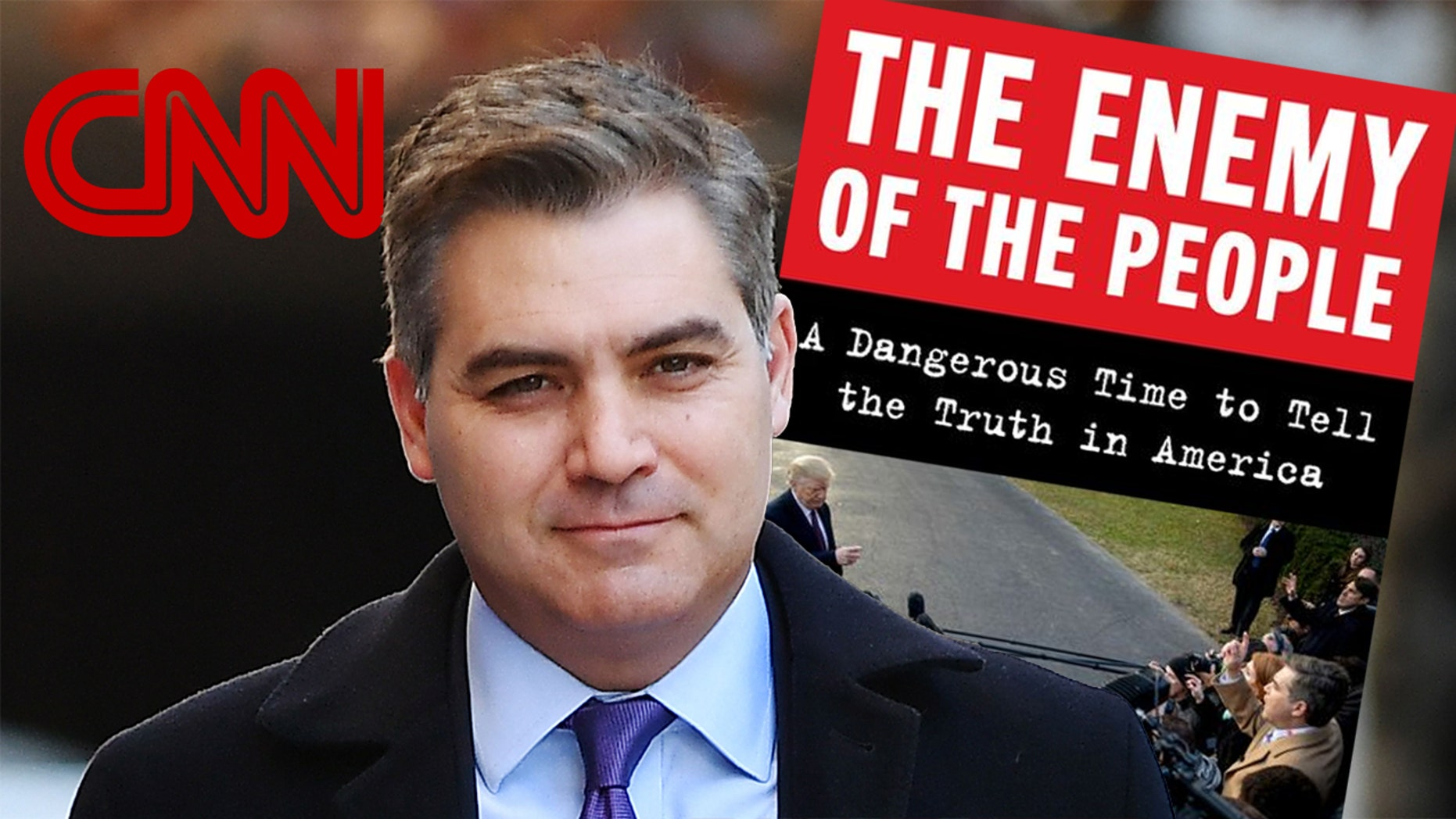 CNN chief White House correspondent Jim Acosta penned a book about covering President Trump. (Getty Images)