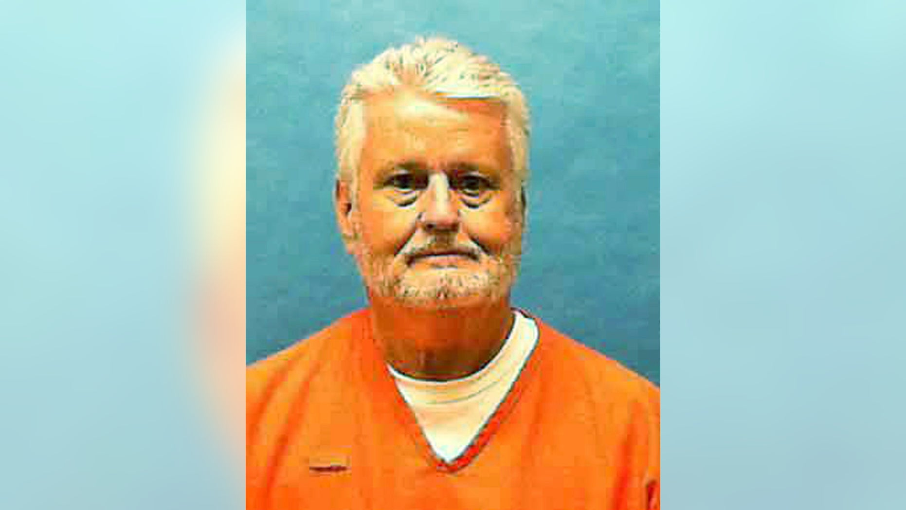 In this updated photo made available by the Florida Department of Law Enforcement shows Bobby Joe Long in custody. Long, is scheduled to be executed Thursday, May 23, 2019, for killing 10 women during eight months in 1984 that terrorized the Tampa Bay area. He was sentenced to 401 years in prison, 28 life sentences and one death sentence. His execution is for the murder of 22-year-old Michelle Simms. (Florida Department of Law Enforcement via AP)