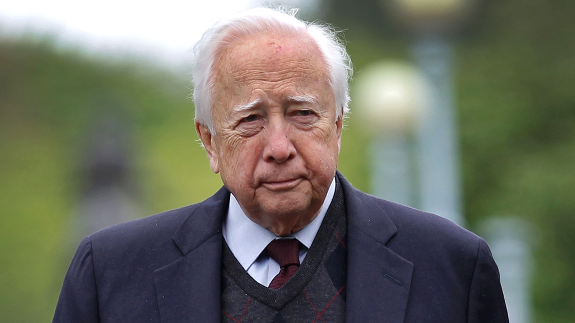BOSTON - MAY 23: Historian David McCullough (Photo by David L Ryan/The Boston Globe via Getty Images)