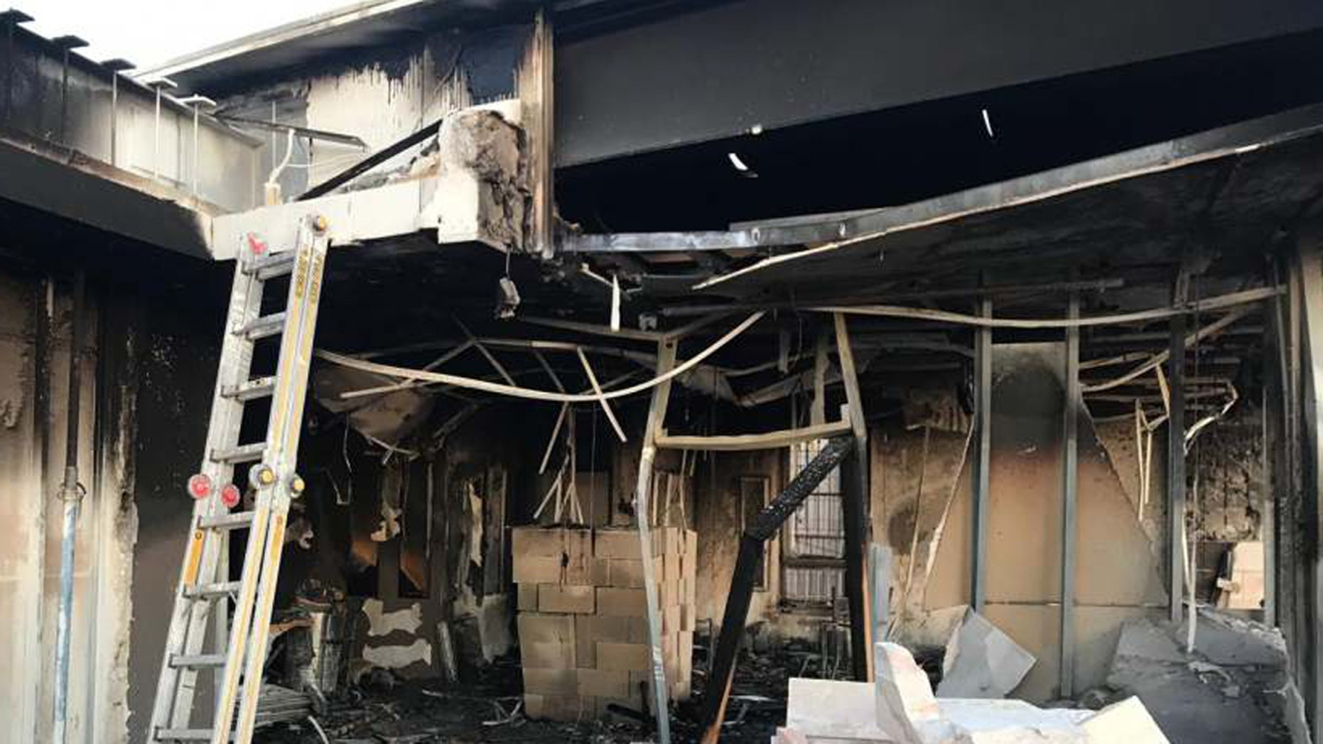 Daystar Television Network's Jerusalem studio was firebombed late Friday night.