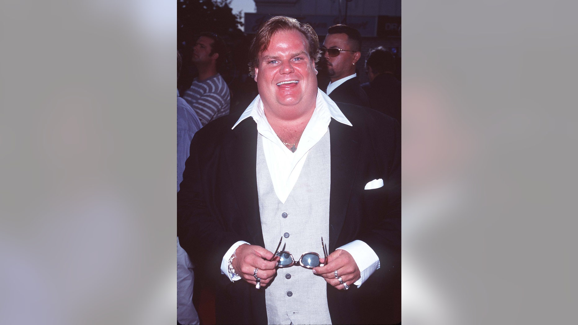 "Late comic Chris Farley is the subject of a new ""Biography"" documentary on A&E."