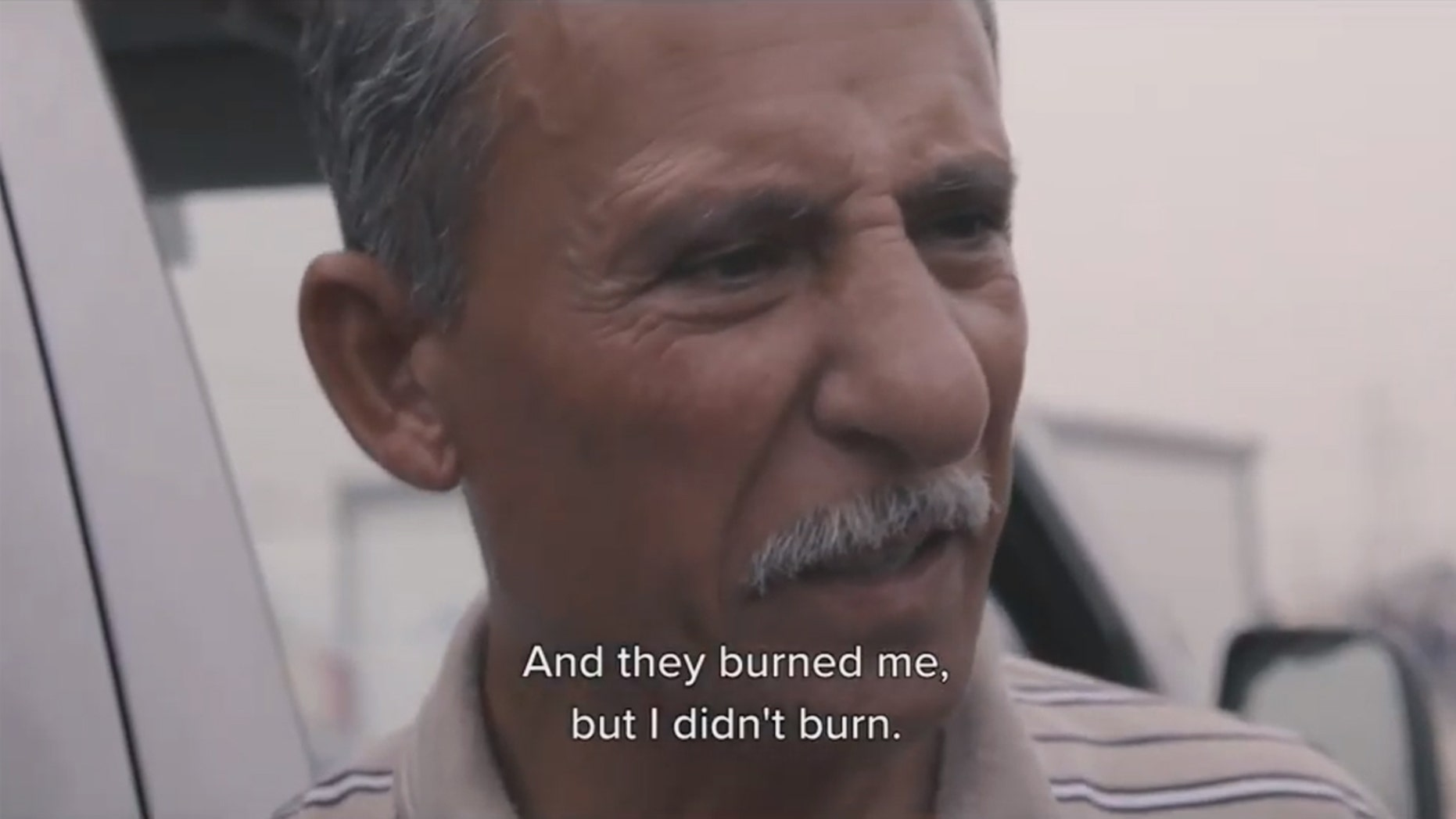 """An Iraqi Christian shares his story of being imprisoned by ISIS, in which they tried to burn him alive three times but his body didn't burn. His story is from an upcoming documentary film called """"Heart and Hands: Iraq"""" from Sean Feucht with his work through Light A Candle Project."""