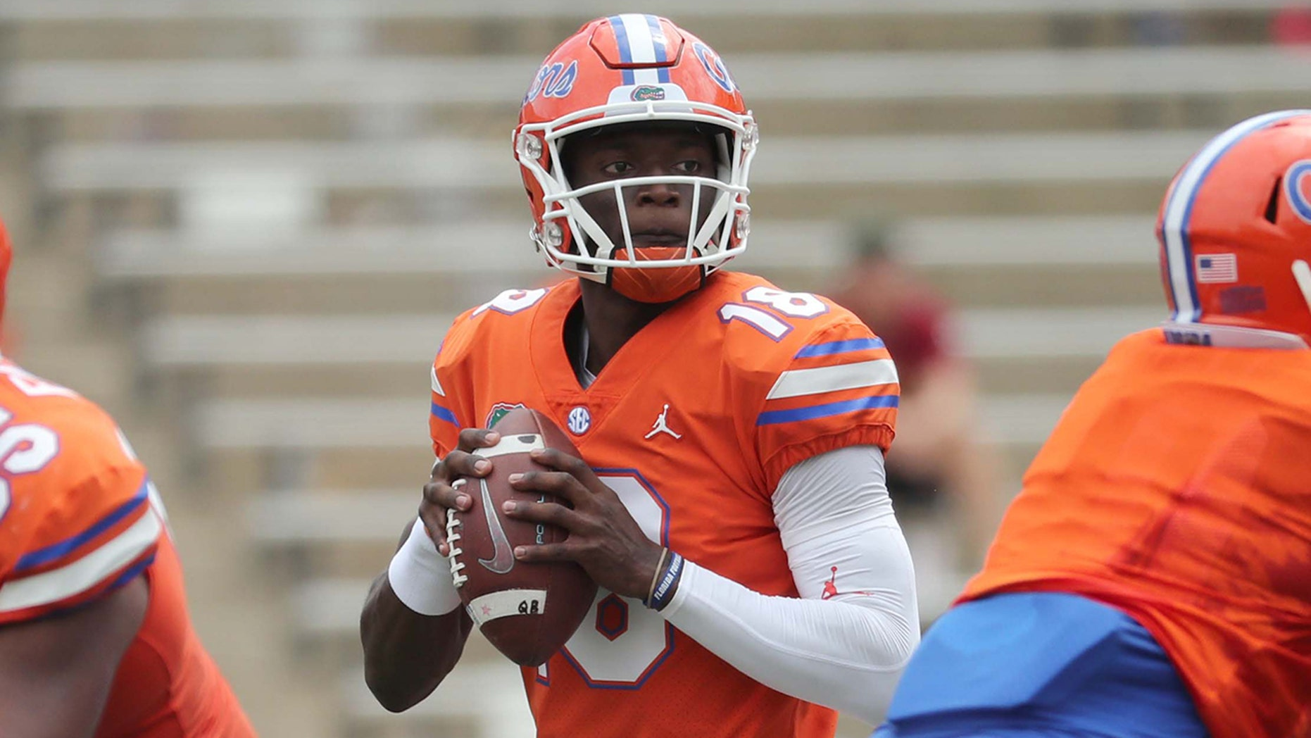 Florida QB Jones accused of sexual battery