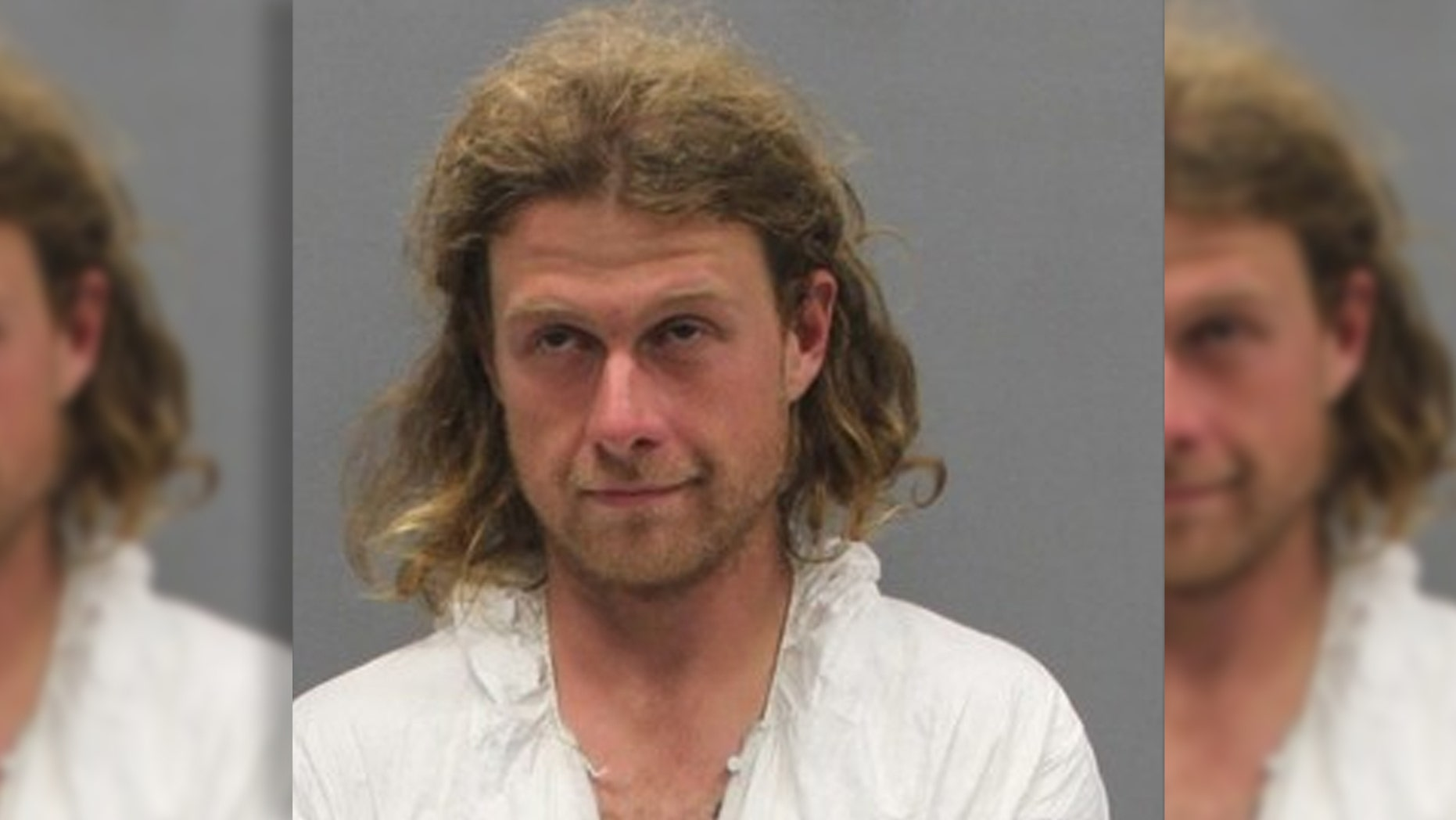 Mugshot for James Jordan, accused in a machete attack on the Appalachian Trail in Virginia early Saturday that killed a male hiker and severely injured a female hiker.