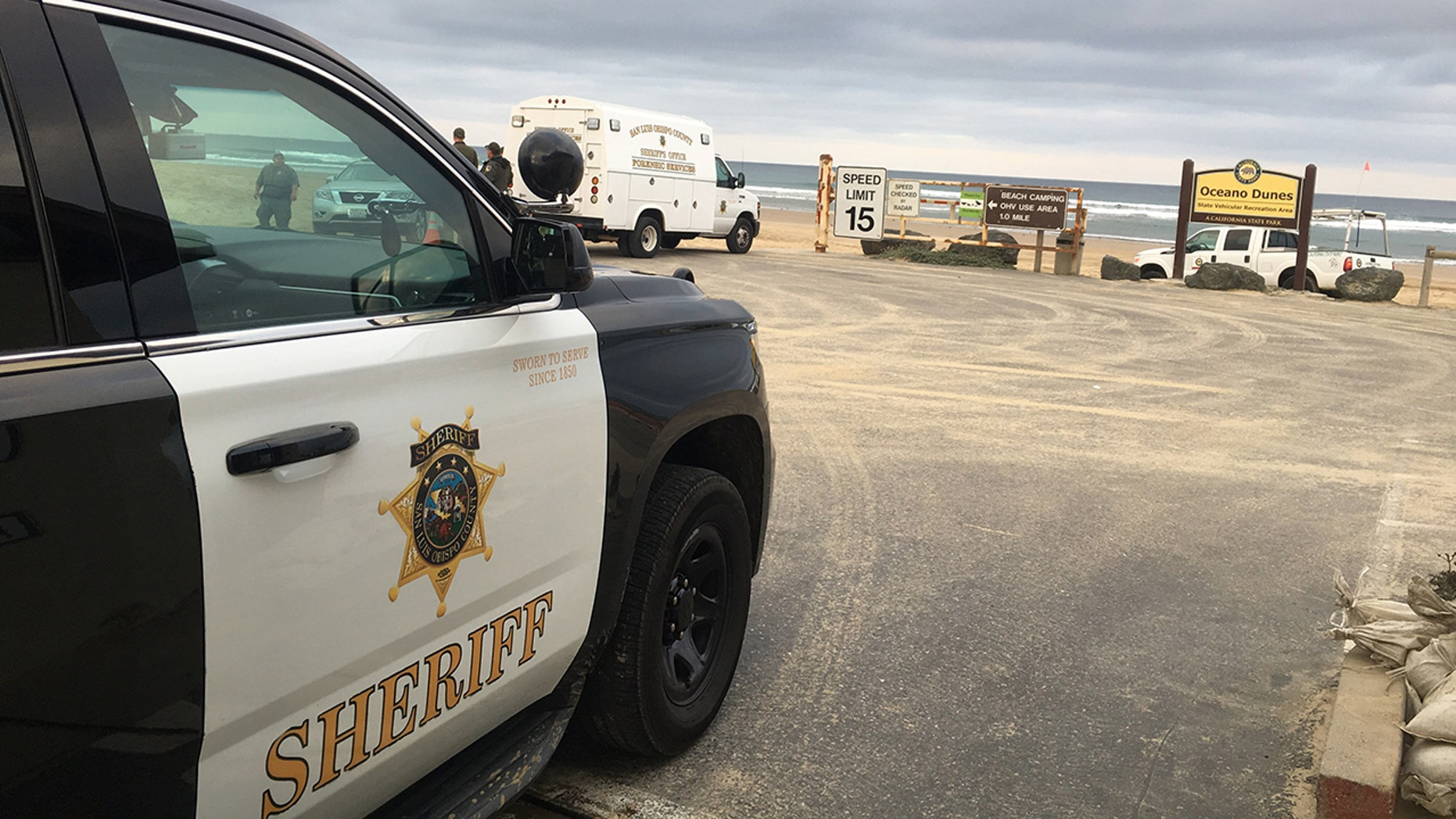 Westlake Legal Group Oceano-Dunes-SPD 5 people hospitalized after California shooting: suspect still at large fox-news/us/us-regions/west/california fox-news/us/crime/police-and-law-enforcement fox-news/us fox-news/travel/general/beach fox news fnc/us fnc David Aaro d3b71ffc-5bc1-5725-823a-c319ff50ebec article