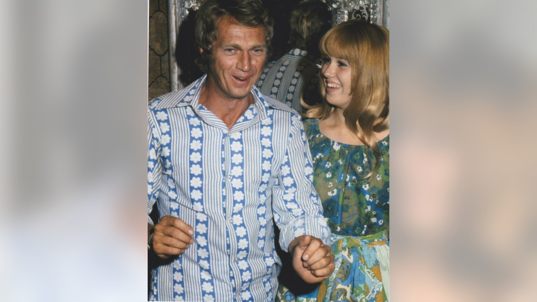 Actress Lee Purcell (right) was personally mentored by late movie icon Steve McQueen.