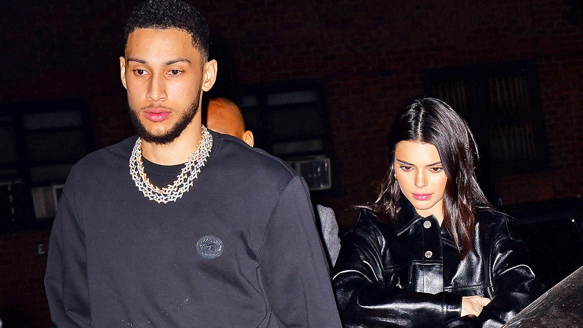 Ben Simmons and Kendall Jenner step out for Valentine's Day in New York City. Jenner confirmed their romance but keeps it generally private.