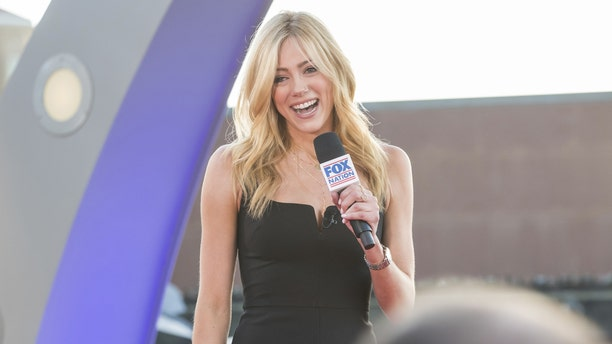 Abby Hornacek hosted a live show, including a Q&A with fans, at the Fox Nation summit