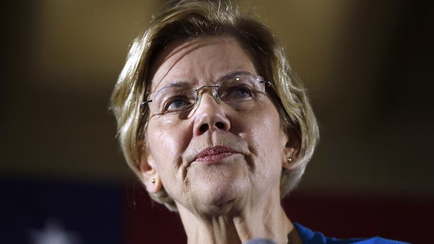 2020 Democratic presidential candidate Sen. Elizabeth Warren has called for the breakup of tech giants like Amazon and Facebook. (AP Photo/Charlie Neibergall)