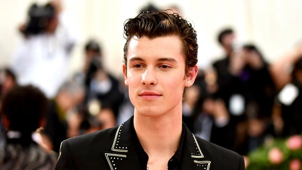 """Shawn Mendes attends The Metropolitan Museum of Art's Costume Institute benefit gala celebrating the opening of the """"Camp: Notes on Fashion"""" exhibition on Monday, May 6, 2019, in New York."""