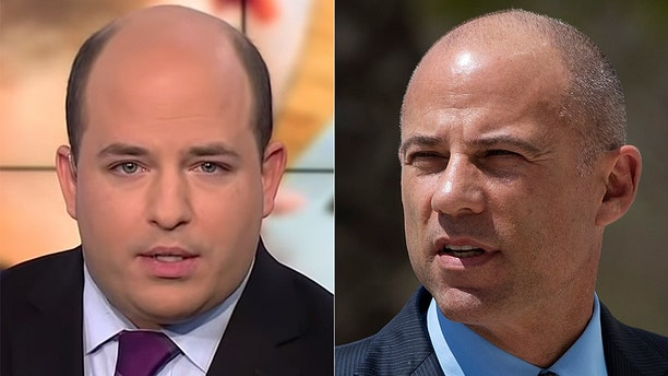 CNN's Brian Stelter once proclaimed that Michael Avenatti was a serious presidential contender.