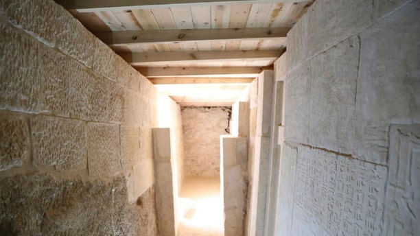 The cemetery was uncovered on the Giza Plateau.