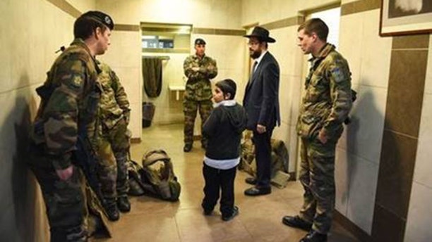 A Chabad House in France The Fellowship of Christians and Jews is helping to secure in France.