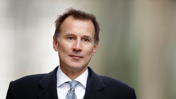 FILE - In this Wednesday, March 13, 2019 file photo, Britain's Foreign Secretary Jeremy Hunt arrives for a cabinet meeting at 10 Downing Street in London. Prime Minister Theresa May's announcement that she will leave 10 Downing Street has set off a fierce competition to succeed her as Conservative Party leader _ and as the next prime minister. (AP Photo/Matt Dunham, File)