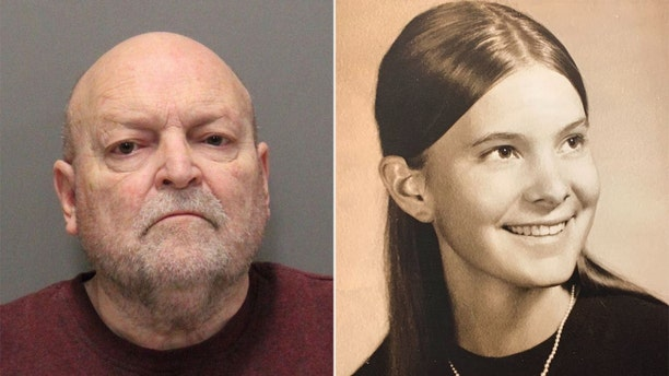 John Getreu, was charged Thursday with killing Janet Taylor, right, in 1974, six months after he allegedly killed Leslie Perlov. Both women were last seen leaving the campus of Stanford University.