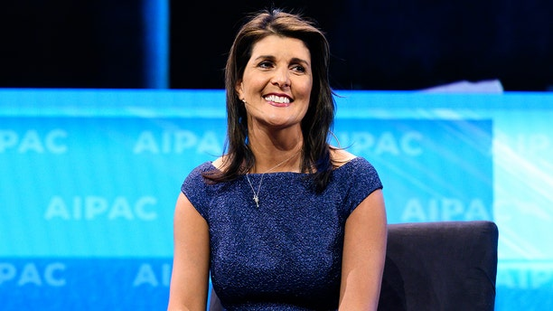 Former U.S. Ambassador to the United Nations Nikki Haley condemned the situation in Aurora, Colorado. (Michael Brochstein/SOPA Images/LightRocket via Getty Images, File)