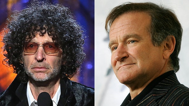 """I love Robin Williams, and yet if he came into my studio, I had to act like I didn't love him. I'd be, 'F**k you,'"" Stern said, in part."
