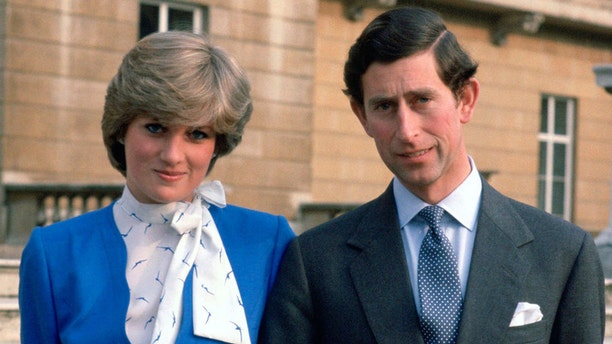 Prince Charles and Lady Diana Spencer.