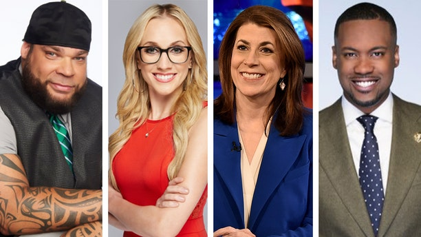 Tyrus, Kat Timpf, Tammy Bruce and Lawrence Jones will host new shows on Fox Nation this summer.