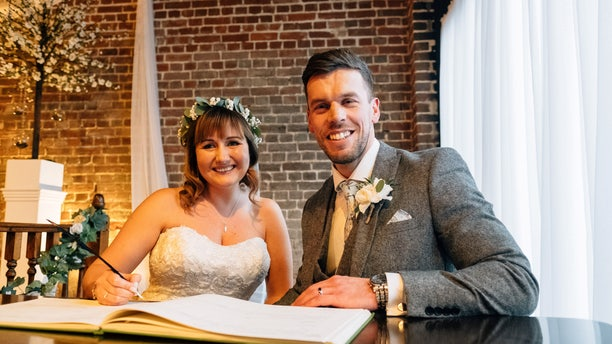 Scott's bride-to-be, Adele, only found out about his accident hours before the wedding.