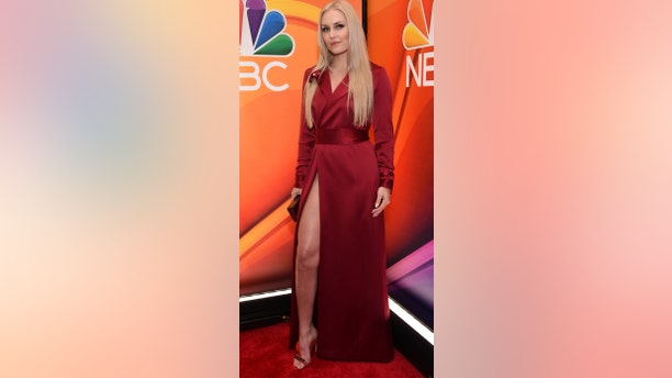 Lindsey Vonn attends the NBC 2019/2020 Upfront at The Four Seasons New York on Monday, May 13, 2019.