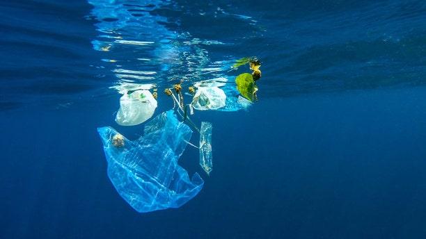 Plastic pollution in ocean. (Credit: aryfahmed / Adobe Stock)