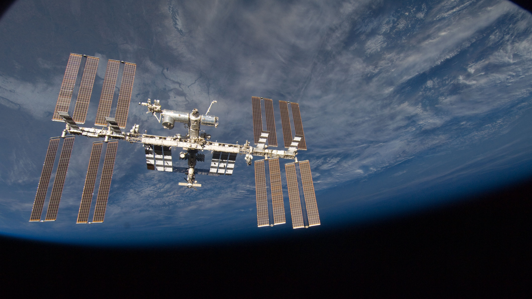 The International Space Station has been in orbit for two decades.