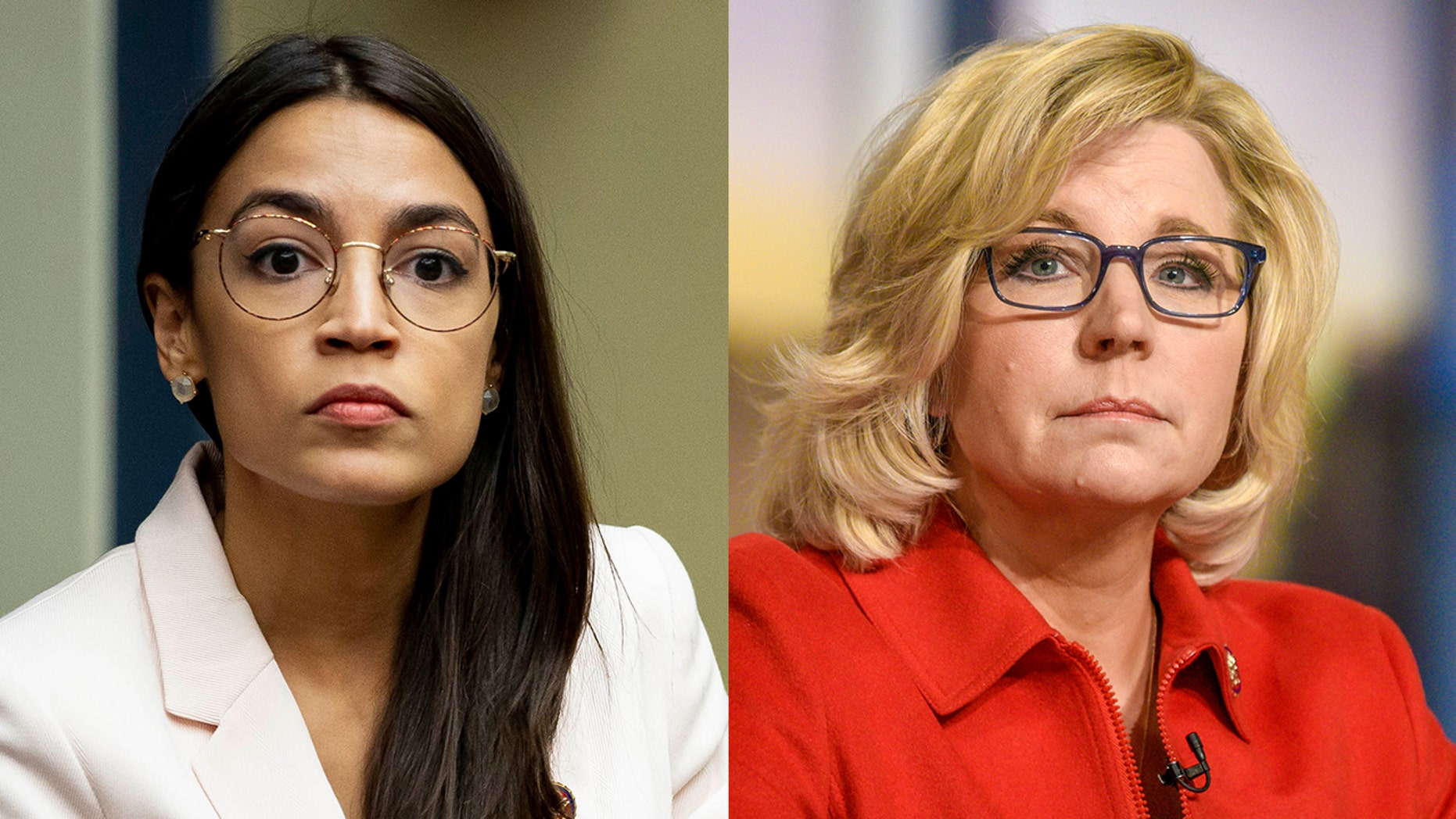 "Rep. Alexandria Ocasio-Cortez, D-N.Y., has taken aim at ""shrieking Republicans,"" including Rep. Liz Cheney, who criticized her for comparing border facilities at the U.S.-Mexico border to concentration camps<br>"