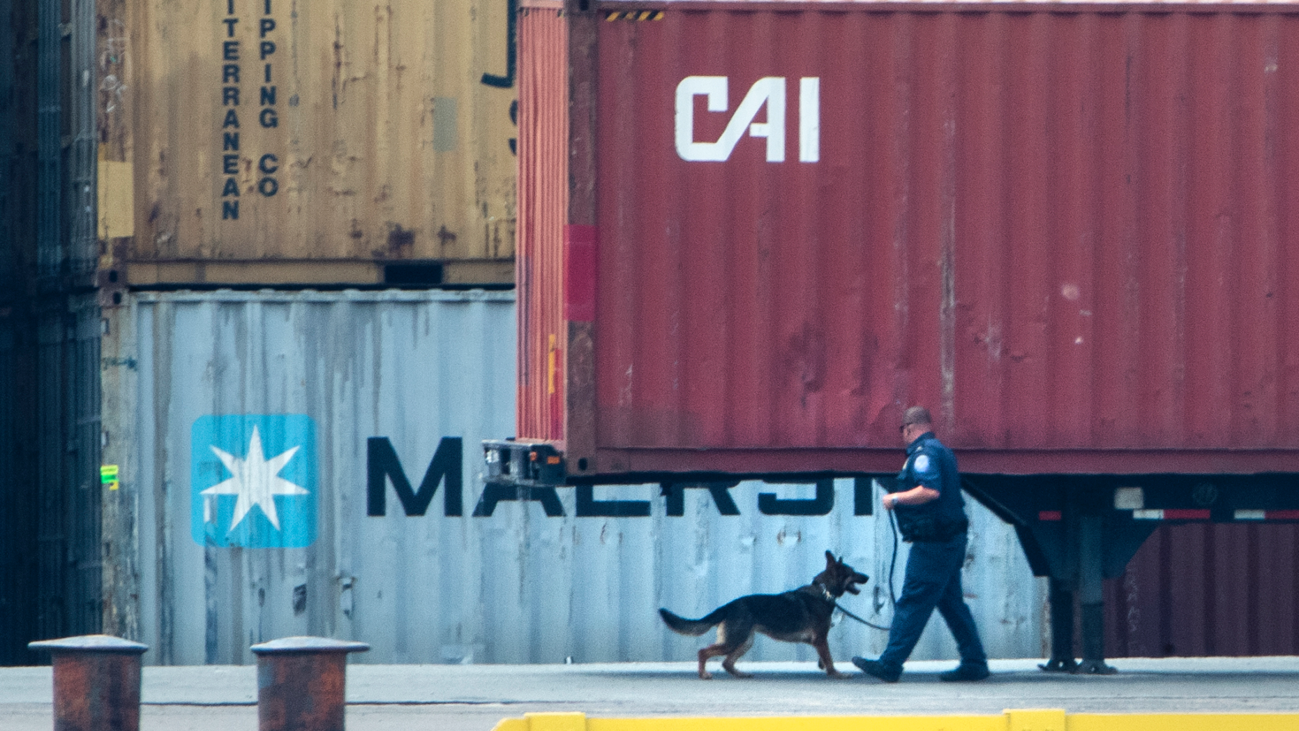 The Latest: 2 charged in huge cocaine bust at Philly port