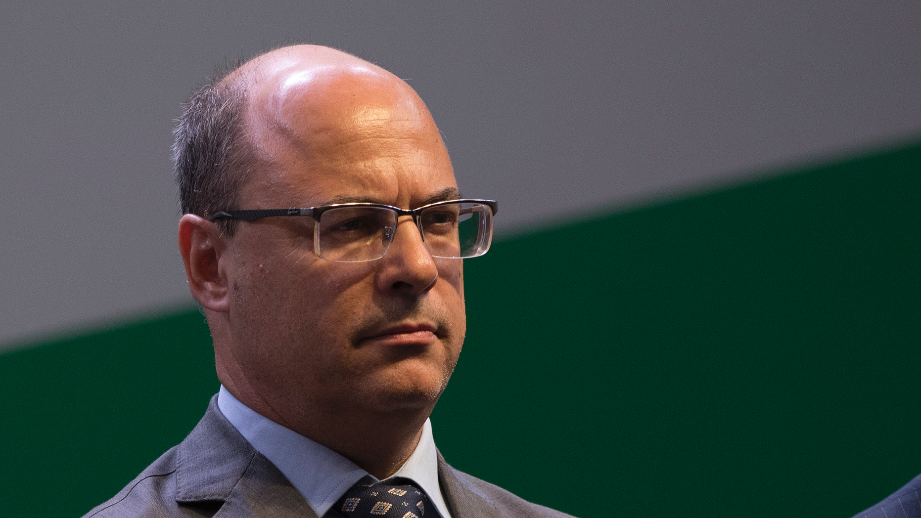 """FILE - In this Jan. 3, 2019 file photo, Rio de Janeiro Gov. Wilson Witzel attends the swearing-in ceremony for the new president of state-run oil company Petrobras, Roberto Castello Branco, in Rio de Janeiro, Brazil. A human rights official and community activists are criticizing Witzel for saying on Friday, June 14, that a missile could be sent to """"blow up"""" drug traffickers in a local slum.  (AP Photo/Leo Correa, File)"""