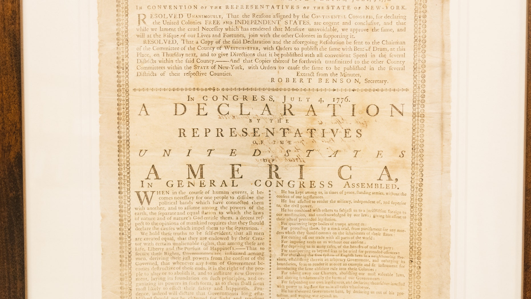 Westlake Legal Group DeclarationPrinting1776 This Day in History: July 4 fox-news/us/this-day-in-history fox news fnc/us fnc e2d136ac-b91b-5270-b600-251c7eef979d article