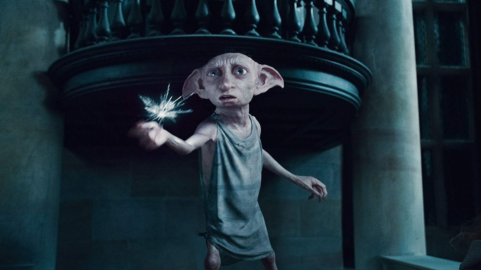 Harry Potter elf 'Dobby' spotted on CCTV walking up woman's driveway