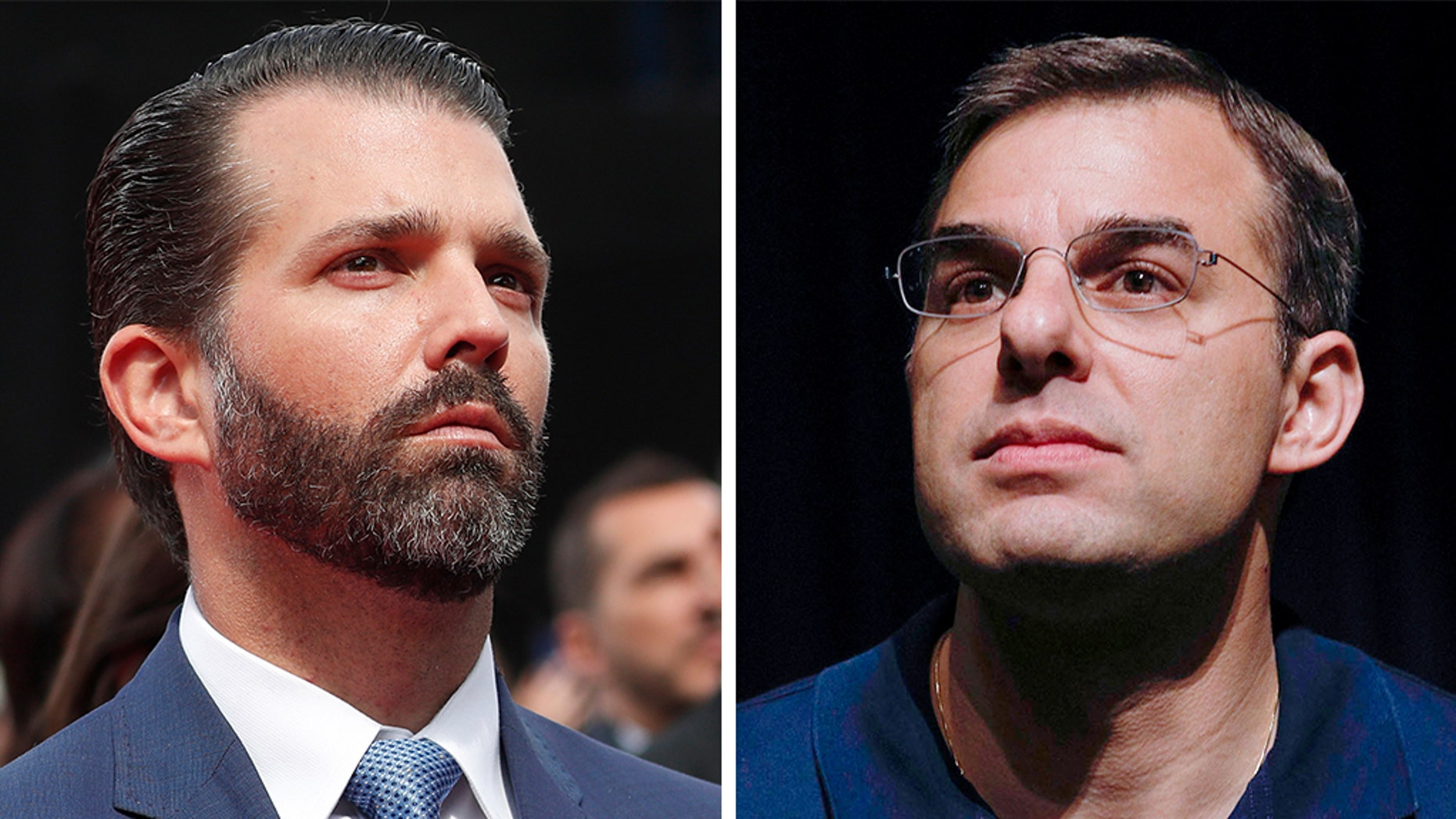 Donald Trump Jr. took on Republican Rep. Justin Amash on Twitter Thursday and pushed for aprimary challenge, after Amash became the first GOP House member to call for the impeachment of President Trump.<br>