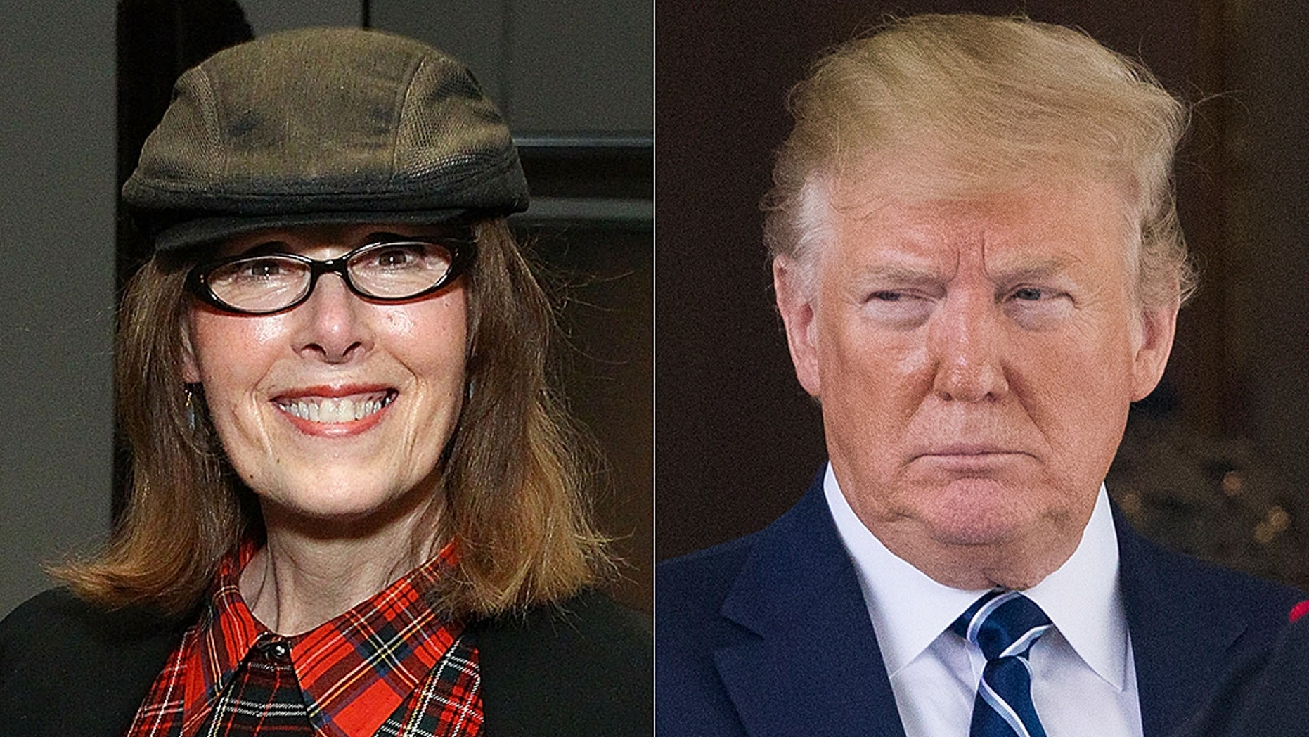 E. Jean Carroll, alongtime advice columnist, is accusing President Trump of sexually assaulting her in a New York City dressing room two decades ago. (Getty, Associated Press).