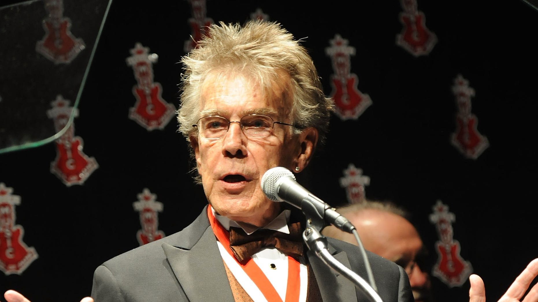 MONTGOMERY, AL - MARCH 25: Inductee Jerry Carrigan speaks at the Alabama Music Hall of Fame's 13th Induction Banquet and Awards Show at the Renaissance Hotel on March 25, 2010 in Montgomery, Alabama.