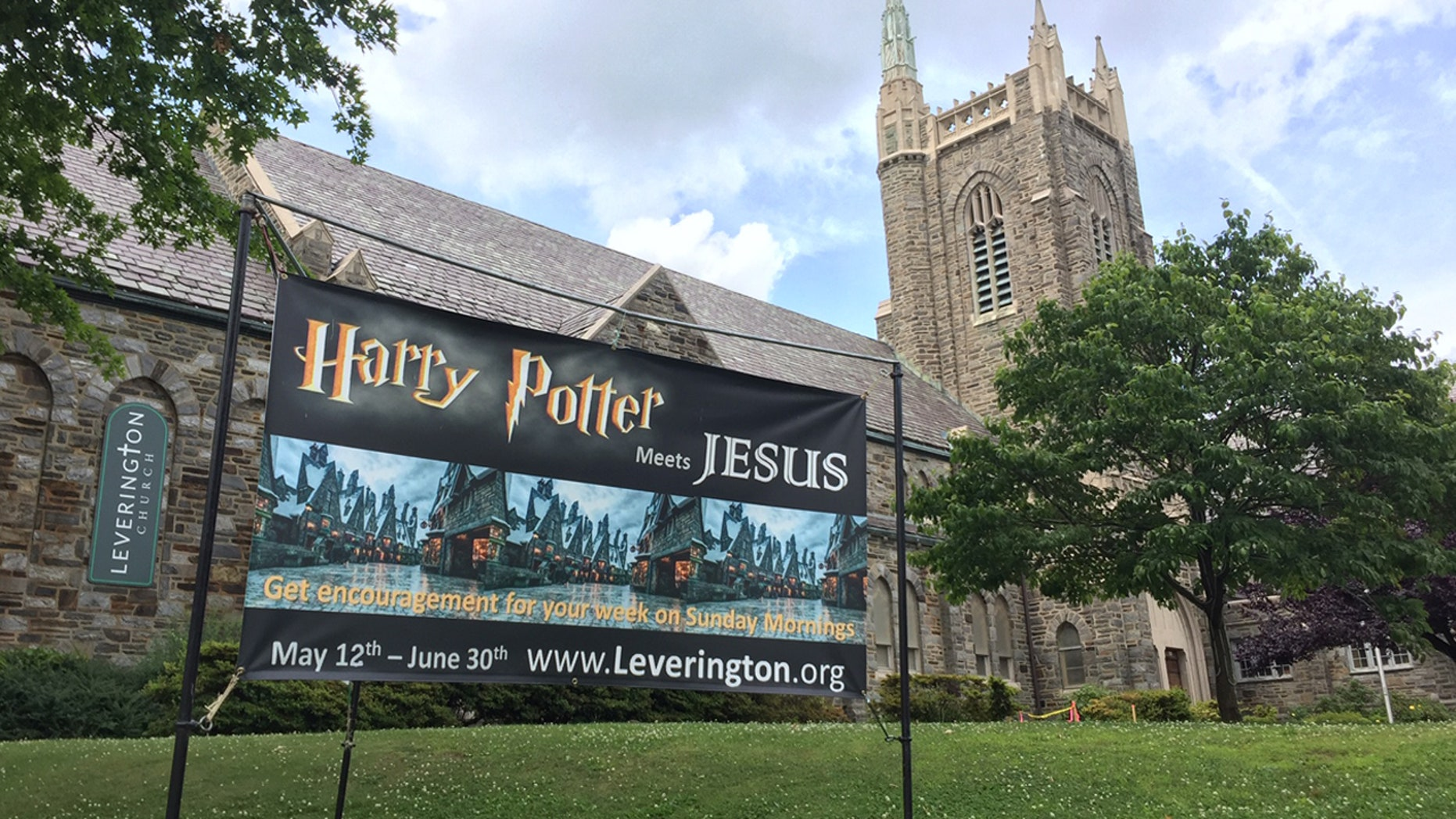 """Leverington Presbyterian Church in Philadelphia, Pa. is attracting believers and fans of J.K. Rowling's popular series in """"Harry Potter meets Jesus."""""""