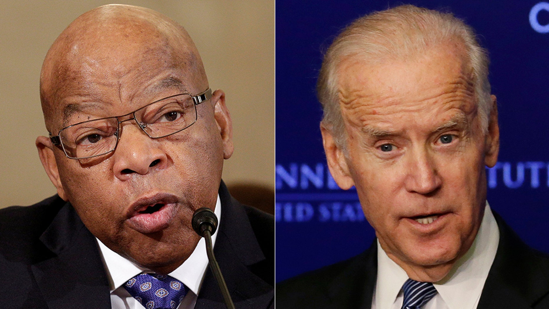 Rep. John Lewis has come to the defense of Joe Biden after the 2020 hopeful touted his past success in working alongside segregationist senators