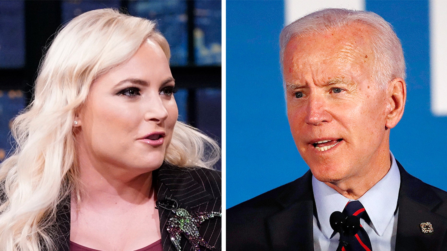 """During a heated discourse on """"The View"""" on Monday about <a data-cke-saved-href=""""https://www.foxnews.com/category/person/joe-biden"""" href=""""https://www.foxnews.com/category/person/joe-biden"""" target=""""_blank"""">Joe Biden</a> changing his tune about the controversial Hyde Amendment, host <a data-cke-saved-href=""""https://www.foxnews.com/category/person/meghan-mccain"""" href=""""https://www.foxnews.com/category/person/meghan-mccain"""" target=""""_blank"""">Meghan McCain</a> insinuated the former Vice President may have lost her support in the 2020 election"""