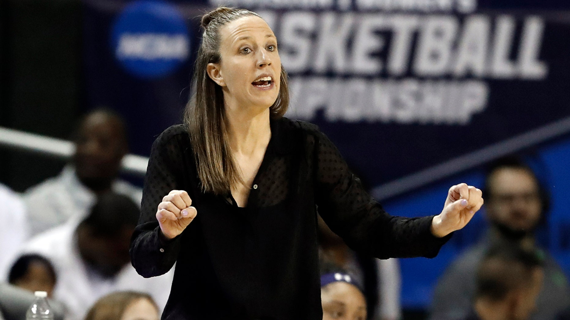 The Cavaliers have hired former California coach Lindsay Gottlieb as an assistant on John Beilein's staff. Gottlieb joins Beilein's staff after serving eight years as the University of California, Berkeley women's basketball head coach, where she led the Golden Bears to a combined 179-89 (.668) record (86-58, .597 in Pac-12) since taking over the helm in 2011-12. (AP Photo/Tony Gutierrez, File)