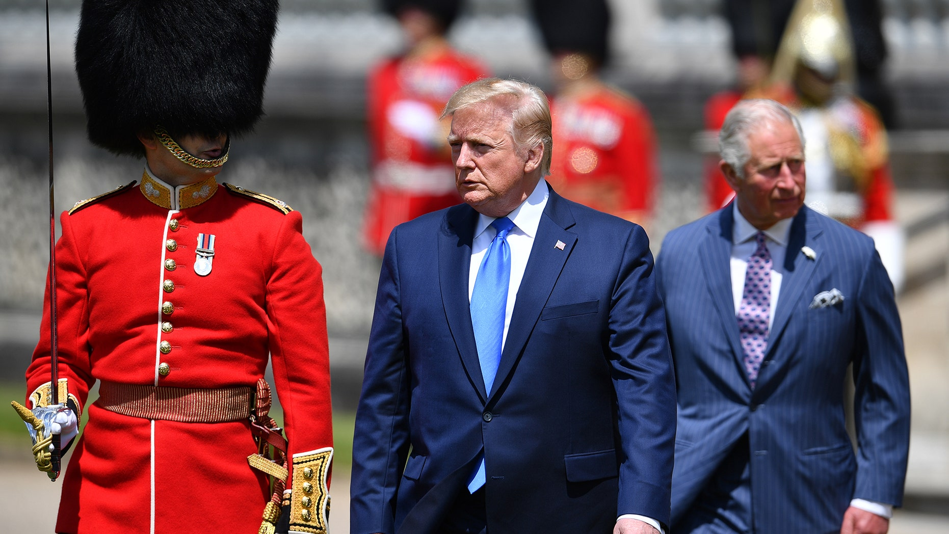 An activist group is attempting to get under President Donald Trump's skin during his state visit to the United Kingdom with some strategically posted images on London's biggest landmarks