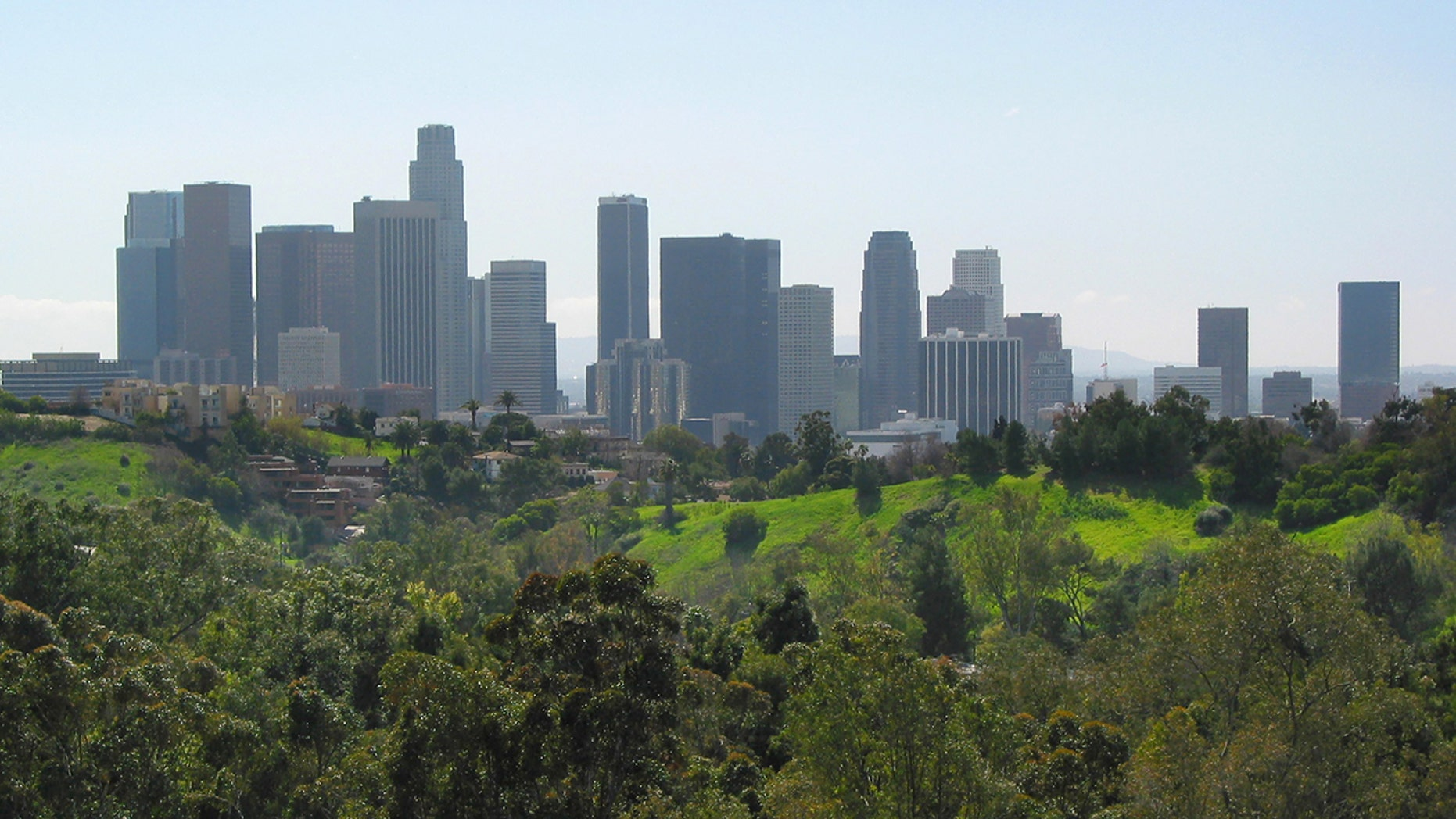 An MS-13 gang member has been sentenced to life in prison for the rape and murder of a 13-year-old girl in 2001, whose body was found in Los Angeles' Elysian Park (pictured)