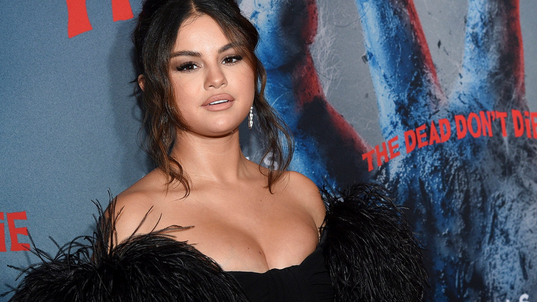 "Actress Selena Gomez attends the premiere of ""The Dead Don't Die,"" at the Museum of Modern Art on Monday, June 10, 2019, in New York. (Photo by Evan Agostini/Invision/AP)"