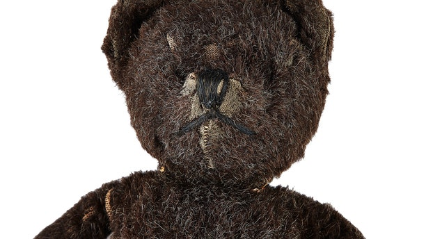 Neil Armstrong's childhood teddy bear was auctioned for $3,500.