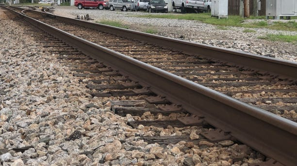 Amtrak's Gulf Coast regional train service would operate on 136 miles of track owned by CSX. The two are working together to see how they could possibly co-exist on the same tracks. (Fox News/Charles Watson)