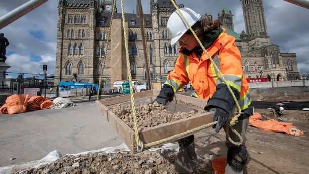 The barracks housed soldiers that oversaw the construction of the famous Rideau Canal, according to officials. (Public Services and Procurement Canada)