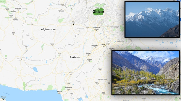 An Italian diplomat and two mountaineering workers in Pakistan say an avalanche has stranded a group of four Italian and three Pakistani climbers on a mountain in the country's north. (Google / iStock)