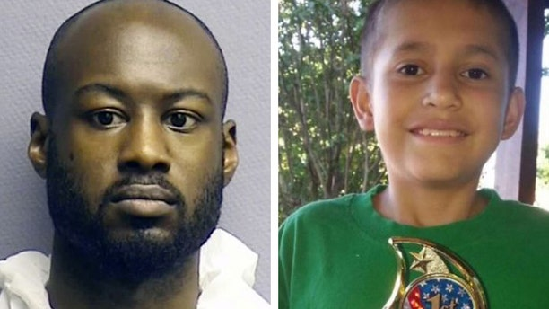 Andre Timothy Jackson Jr. was indicted by a grand jury in Houston in the death of Josue Flores. (Houston Police Department / Harris County Sheriff's Office)