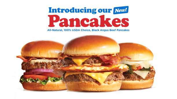"""IHOP's newest offerings, which the company is calling """"pancakes,"""" also include a Garlic Butter burger and a Loaded Philly burger."""