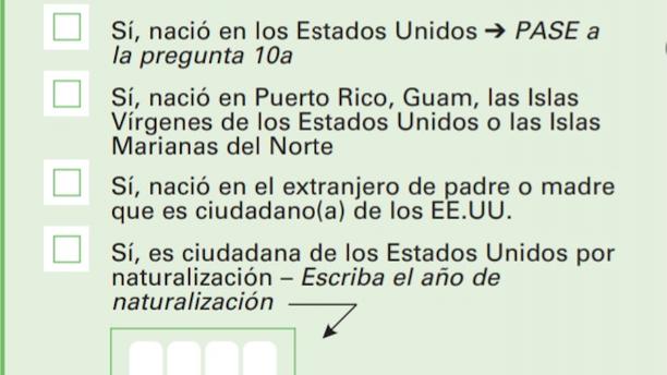 2010 Census Question